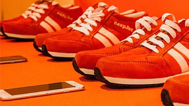 EasyJet creó zapatillas inteligentes para viajeros