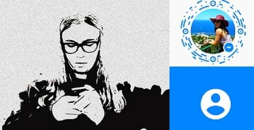 Los códigos que presenta tu foto de Facebook Messenger