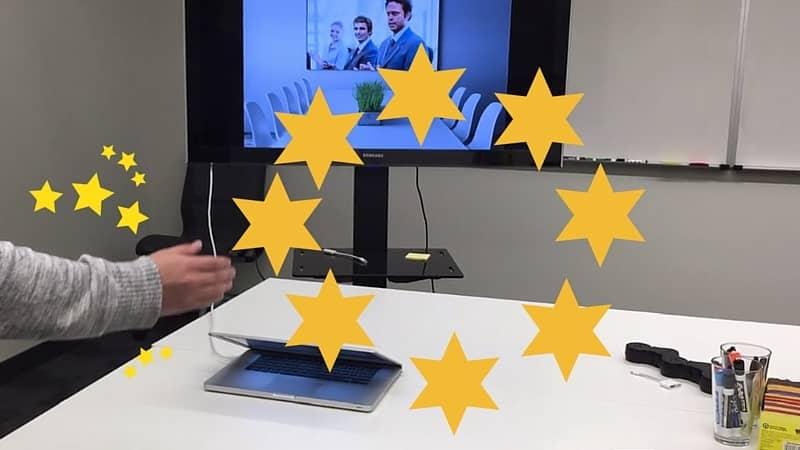 Swoosh: Manos mágicas en tu próxima presentación.