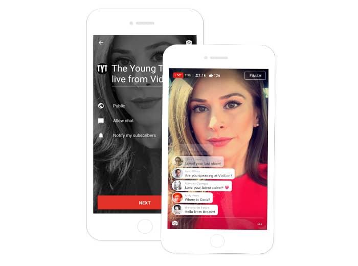 Transmisiones desde la palma de la mano: Youtube, móviles y streaming