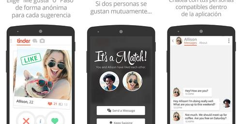 """Tinder, la red social donde encontrarás algo más que """"amigos"""""""