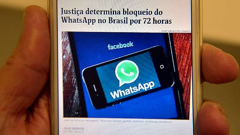 Sin Whatsapp, Brasil es una fiesta para la competencia en mensajería