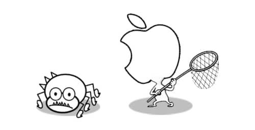 Apple anuncia un Programa de Recompensa de Bugs