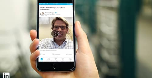 LinkedIn incorpora (al fin) videos de sus influenciadores