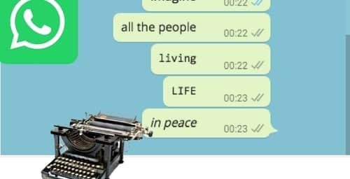 Cómo cambiar la tipografía en Whatsapp