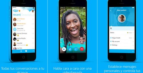 Skype 5.0, buscando mejorar su servicio para iPhone