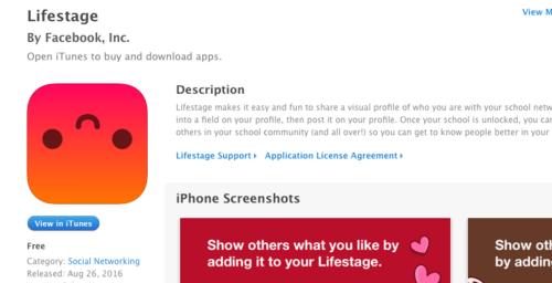Lifestage sale para dar batalla a Snapchat