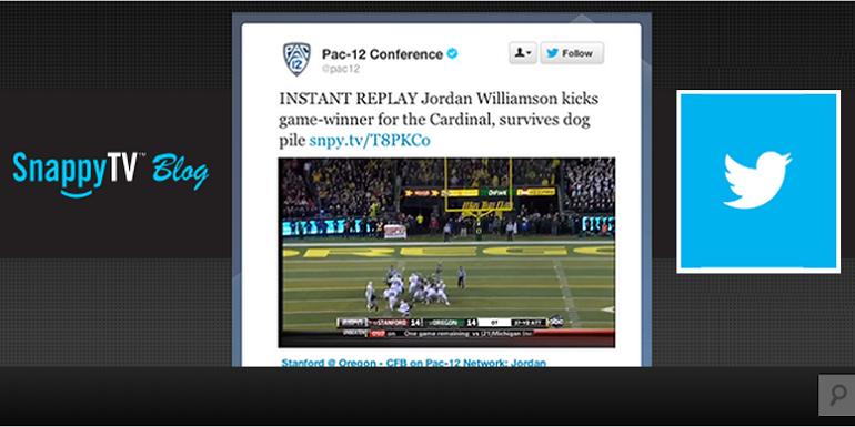 Twitter adquiere SnappyTV y se enfoca en los videos en tiempo real