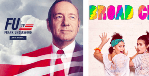 De series y redes: los casos House of Cards y Broad City