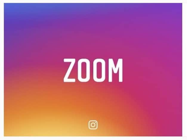 Qué pasa con el zoom en Instagram