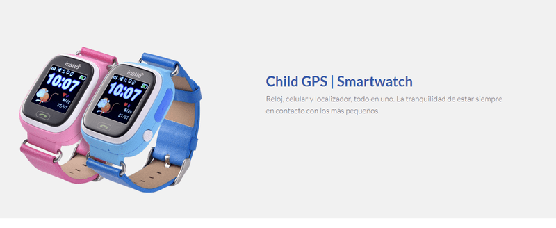 Reloj inteligente para estar atentos a nuestros niños