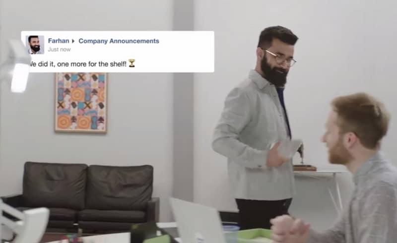 Facebook at Work, competencia para LinkedIN