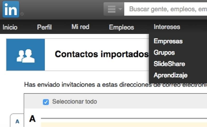 Gestiona tus contactos de LinkedIN