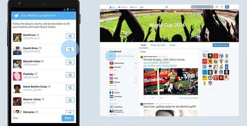 Twitter y su última invitación para seguir la final del Mundial Brasil 2014