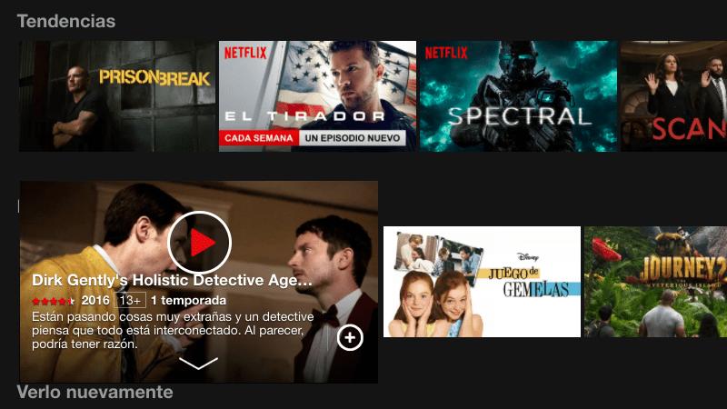 Descarga contenido de Netflix para verlo offline