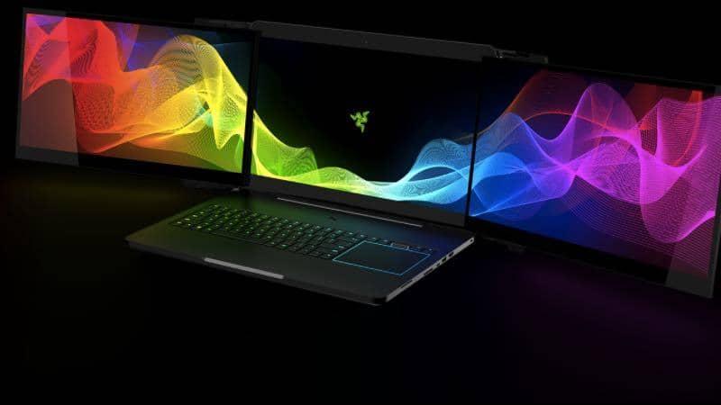 Project Valerie: la novedosa laptop con 3 pantallas