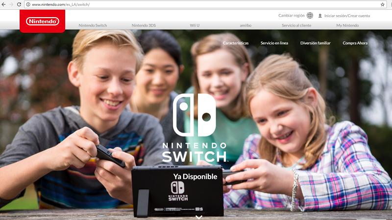 Nueva consola de Nintendo, todo un éxito en ventas