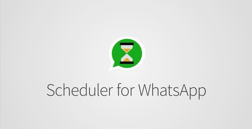 "Programa tus mensajes de WhatsApp con ""Scheduler for WhatsApp"""
