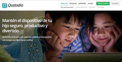 Qustodio: Una App que te permite supervisar la actividad online de los Chicos
