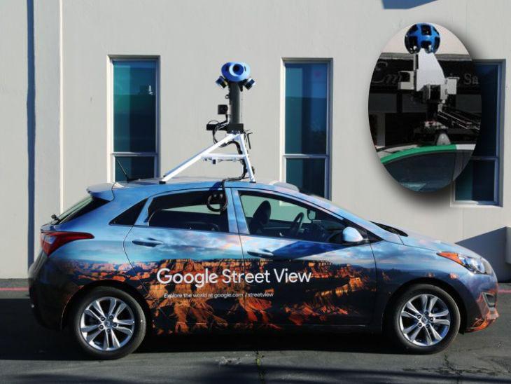 Google actualiza las cámaras de los coches de Street View
