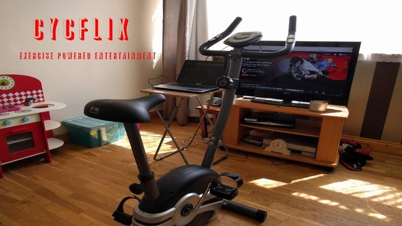 Entretenimiento y entrenamiento juntos: Cycflix