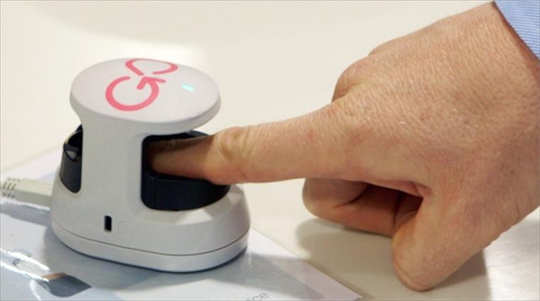 Pagar con la huella dactilar