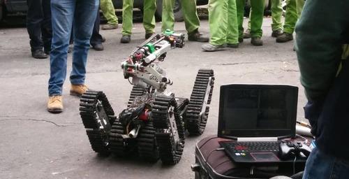 El robot que colaboró con los rescates en México