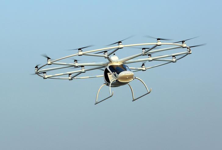 Dubai prueba el taxi volador del futuro