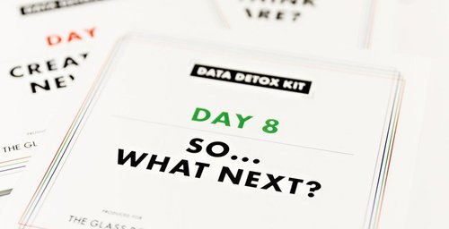 Data Detox: La dieta que te ayuda a tu desintoxicación digital