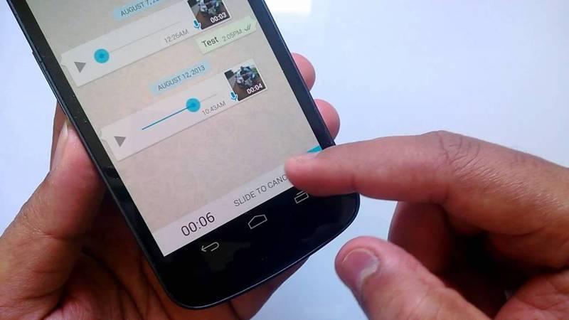 Nuevas funciones para las notas de voz en WhatsApp