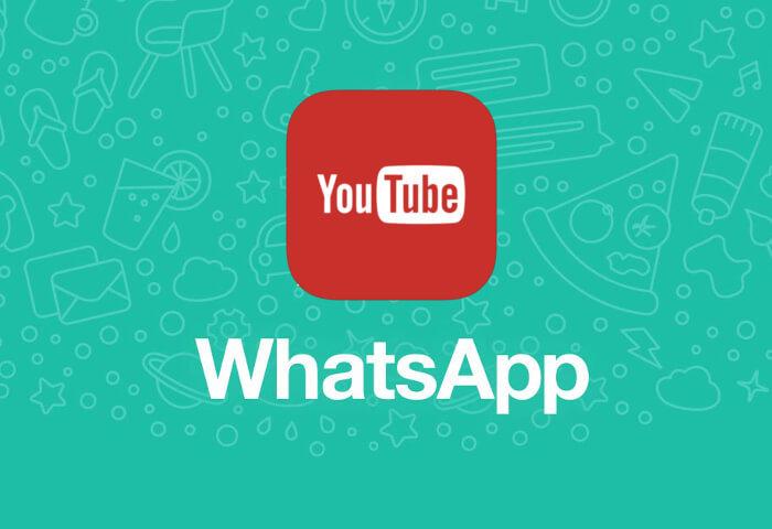 Ahora podrás ver videos de YouTube en WhatsApp, sin salir de la aplicación