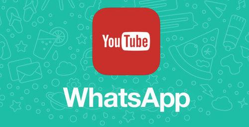 Ahora podrás ver videos de YouTube en Whats App, sin salir de la aplicación