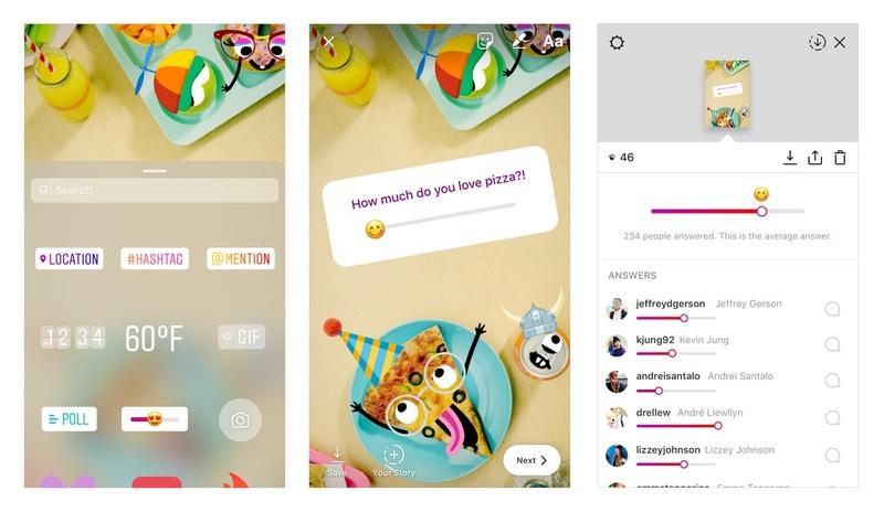 "Llegaron los ""Emoji Slider"" a Instagram"
