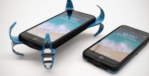 Spider-App, la funda airbag para salvar celulares de las caídas