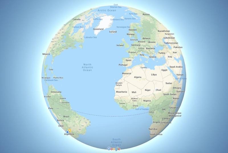 "¡Adiós planisferio! Llegó ""Globo 3D"" a Google Maps"