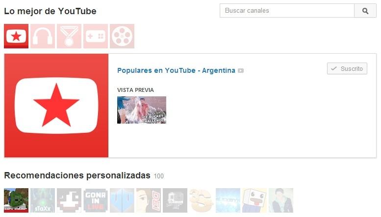 Cómo crear un Canal en YouTube