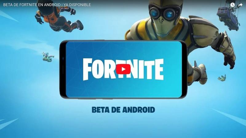Fortnite Battle Royale llega a Android
