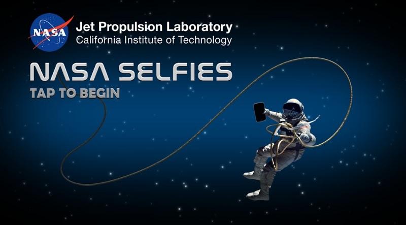 Gracias a la NASA podrás tener tu selfie en el espacio.