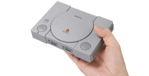 Sony relanza una versión miniatura de su primera PlayStation