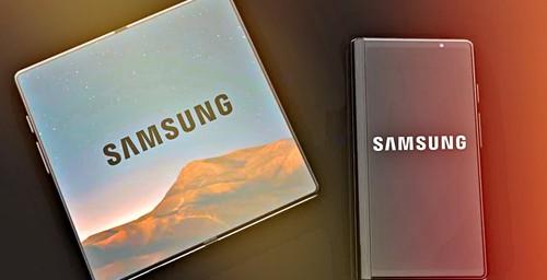 Samsung presentó su primer Galaxy con pantalla flexible