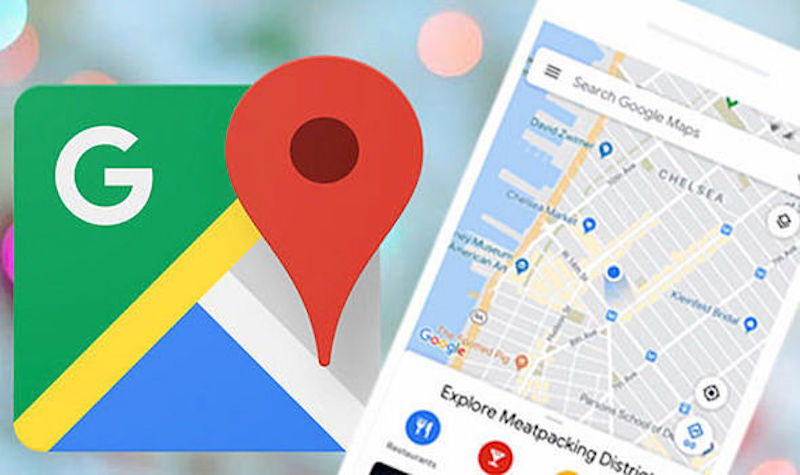 Google Maps with important news for drivers