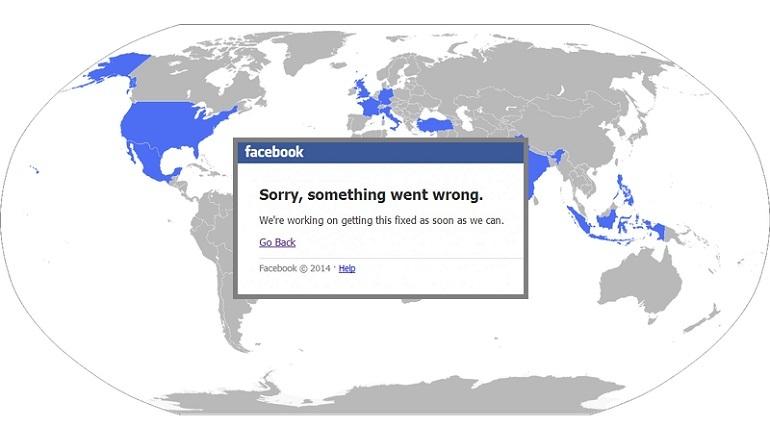 Facebook sin servicio, y van …