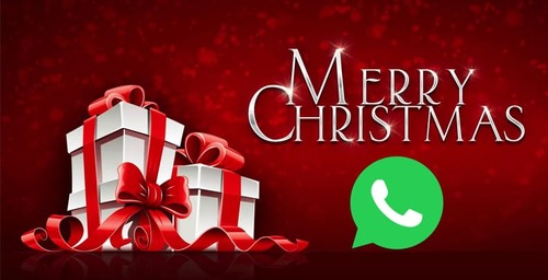 Download the new Christmas stickers on WhatsApp