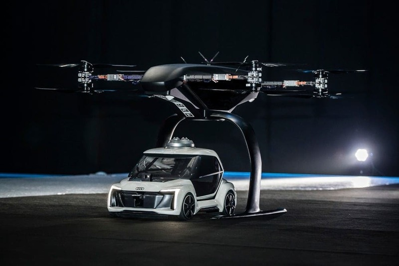 Airbus and Audi together for the new flying car