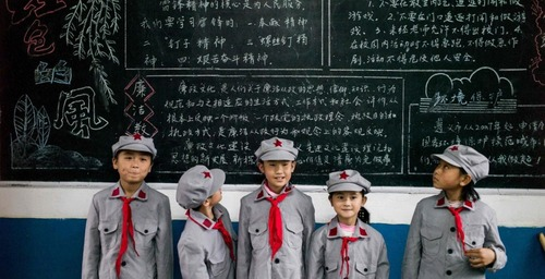 In China they use smart uniforms in schools, to know the location of the students