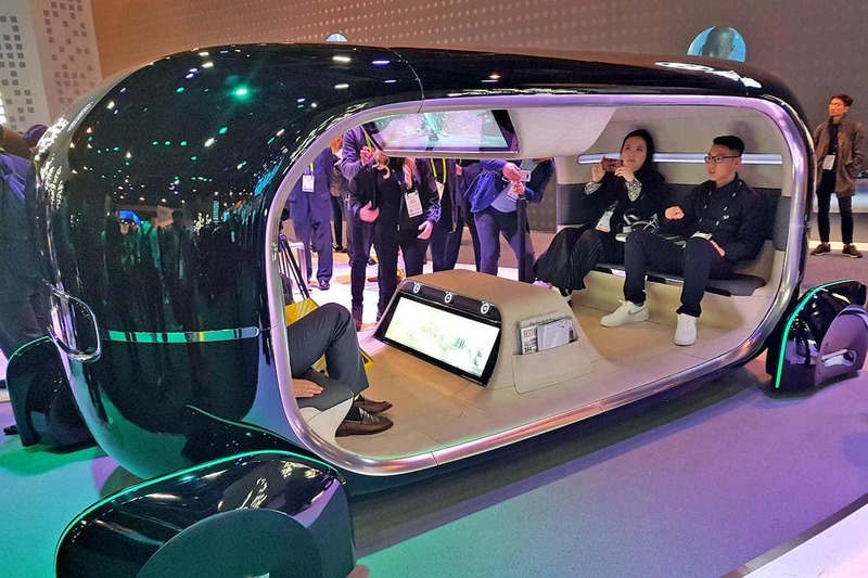 The most amazing vehicles of the CES 2019