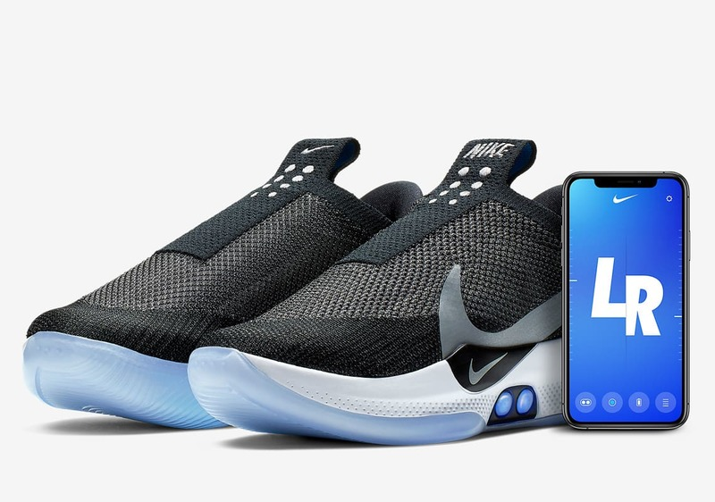 Smart Nike shoes that adapt to the foot and bind themselves