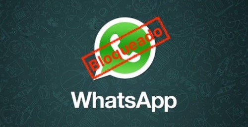 How to send a WhatsApp message to a user who has blocked you?