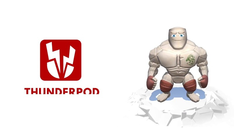 Thunderpod, the game that will put you in shape