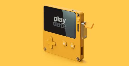 PlayDate, a video game console for nostalgic